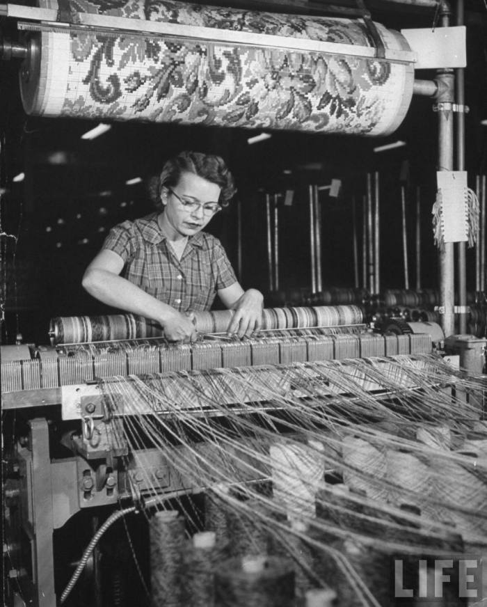 A Very Short History Of Carpet Manufacturing