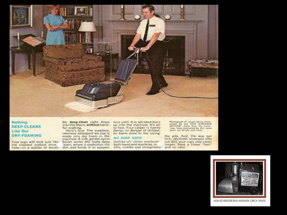 The Beginning Of On Location Professional Carpet Cleaning